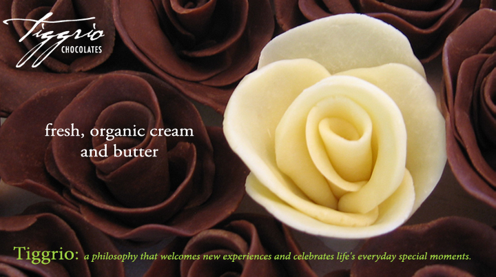 Tiggrio Chocolates: a philosophy that welcomes new experiences and celebrates life's everyday special moments.